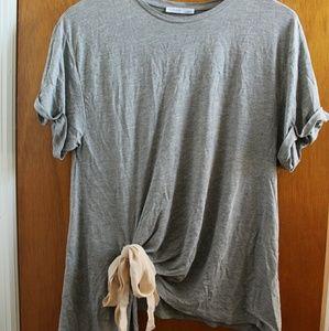 Zara t-shirt with bow